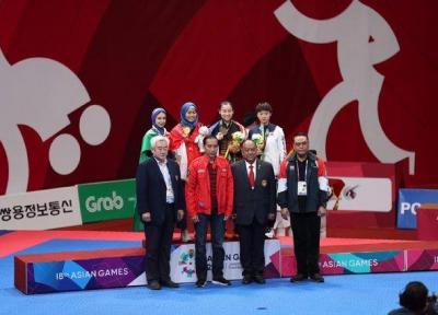 مرجان سلحشوری دومین نقره ای ایران در بازیهای آسیایی