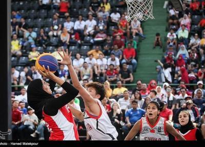 بسکتبال سه نفره قهرمانی آسیا، پیروزی بانوان ایران برابر قزاق ها