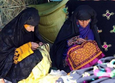 مراسم جشن شهر ملی سوزن دوزی در ایرانشهر برگزار گردید